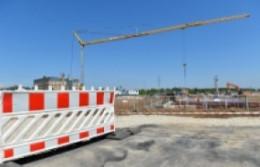 Строительство дорог в поселке Мосрентген